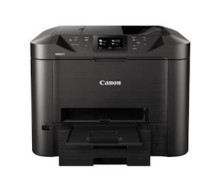 Fi too Ethernet association too unmarried exit ii Canon MAXIFY MB5480 Driver Download And Review