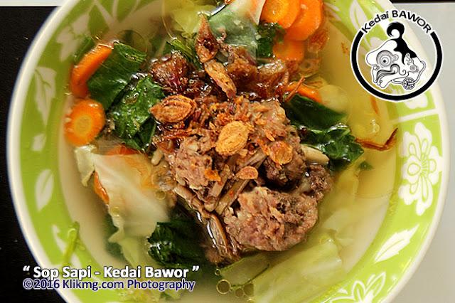 Aneka Menu Kuliner KEDAI BAWOR Purwokerto