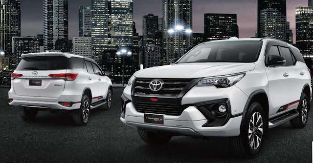 Harga Fortuner Toyota Terbaru 2018