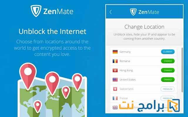 تحميل برنامج zenmate للكمبيوتر مجانا برابط مباشر