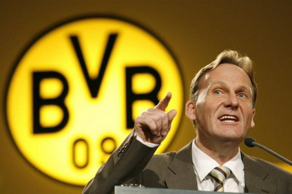 The Champions League drama proved to be a little too much to bare for Hans-Joachim Watzke