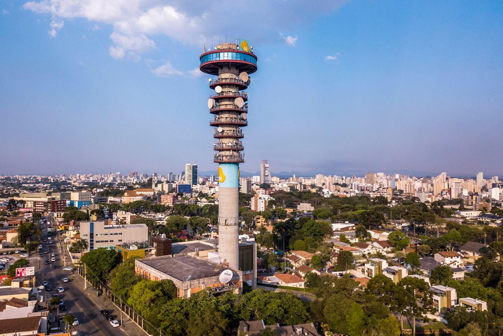 Torre Panorâmica de Curitiba bate recorde de visitantes