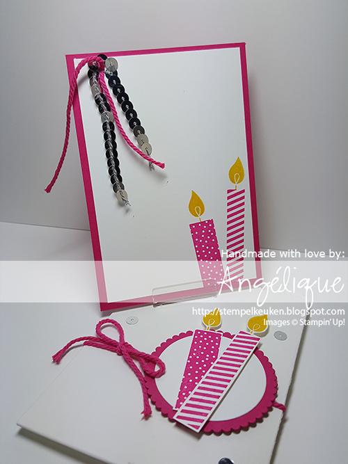 http://stempelkeuken.blogspot.com #birthday #verjaardag #verjaardagskaart #diy #homemade #stampinup #stempelen #kaart #birthdaycard #BuildaBirthday #CrushedCurry #MelonMambo #WhisperWhiteThickCardstock #SilverSequins #HandheldStapler #PaperSnips #Stampin'Dimensionals #LayeringCircleFramelits #WinkOfStella #MiniTreatBagThinlits #Stempelkeuken Voor het bestellen van jouw Stampin' Up! producten stempelkeuken@gmail.com