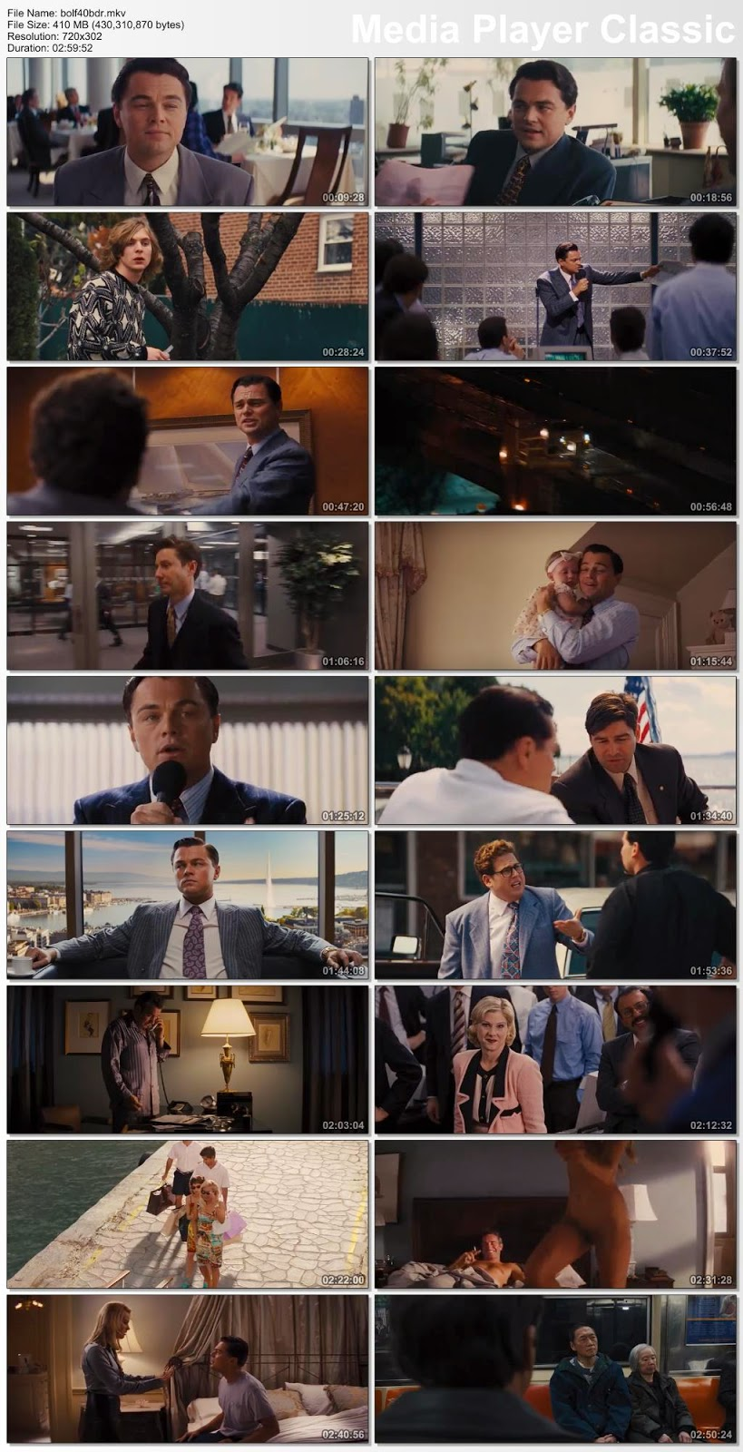 The Wolf of Wall Street (2013) Download 480p 720p BluRay Full Movie