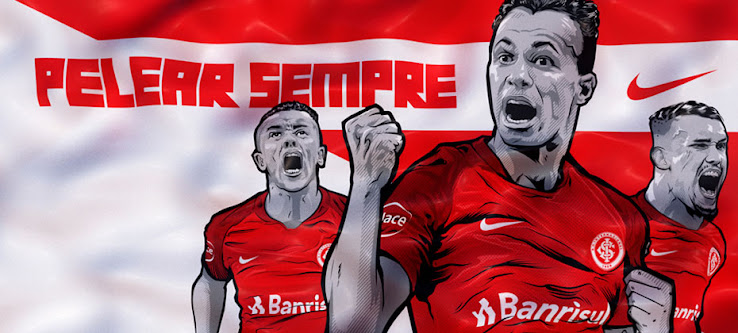 new arrivals 13c57 13b6f The new Nike home kit for Brazilian club Internacional has been released  today. Internacional return to the Brasileirao after one season in the  second ...