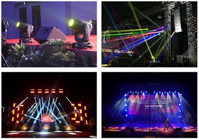 Lighting stage indoor dan outdoor