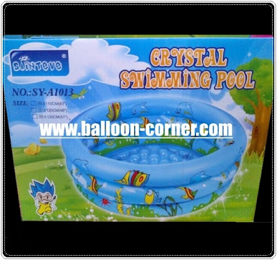 Sainteve Crystal Swimming Pool / Kolam Renang Anak Sainteve