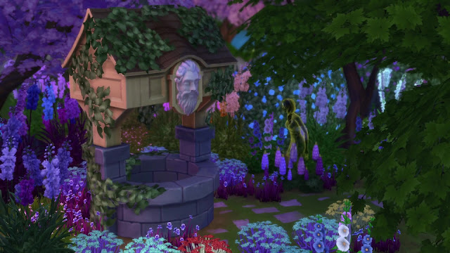 Sims 4 Romantic Garden Stuff Pack