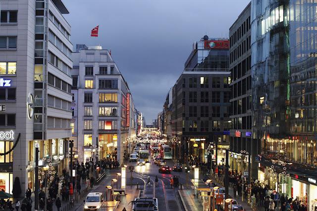 Friedrichstrasse em Berlim