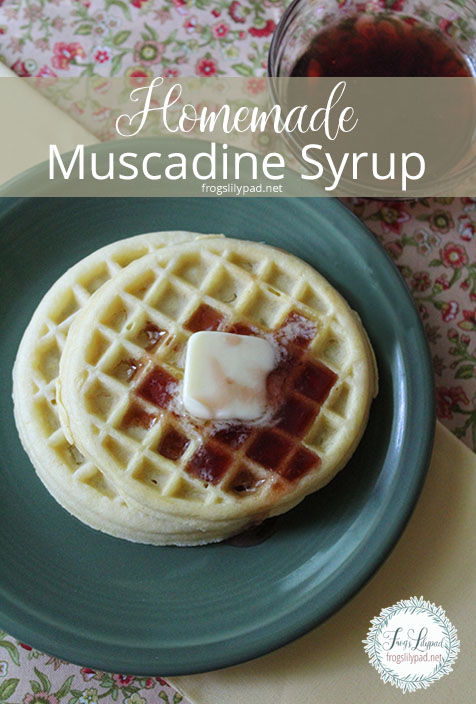 Easy Homemade Muscadine Syrup