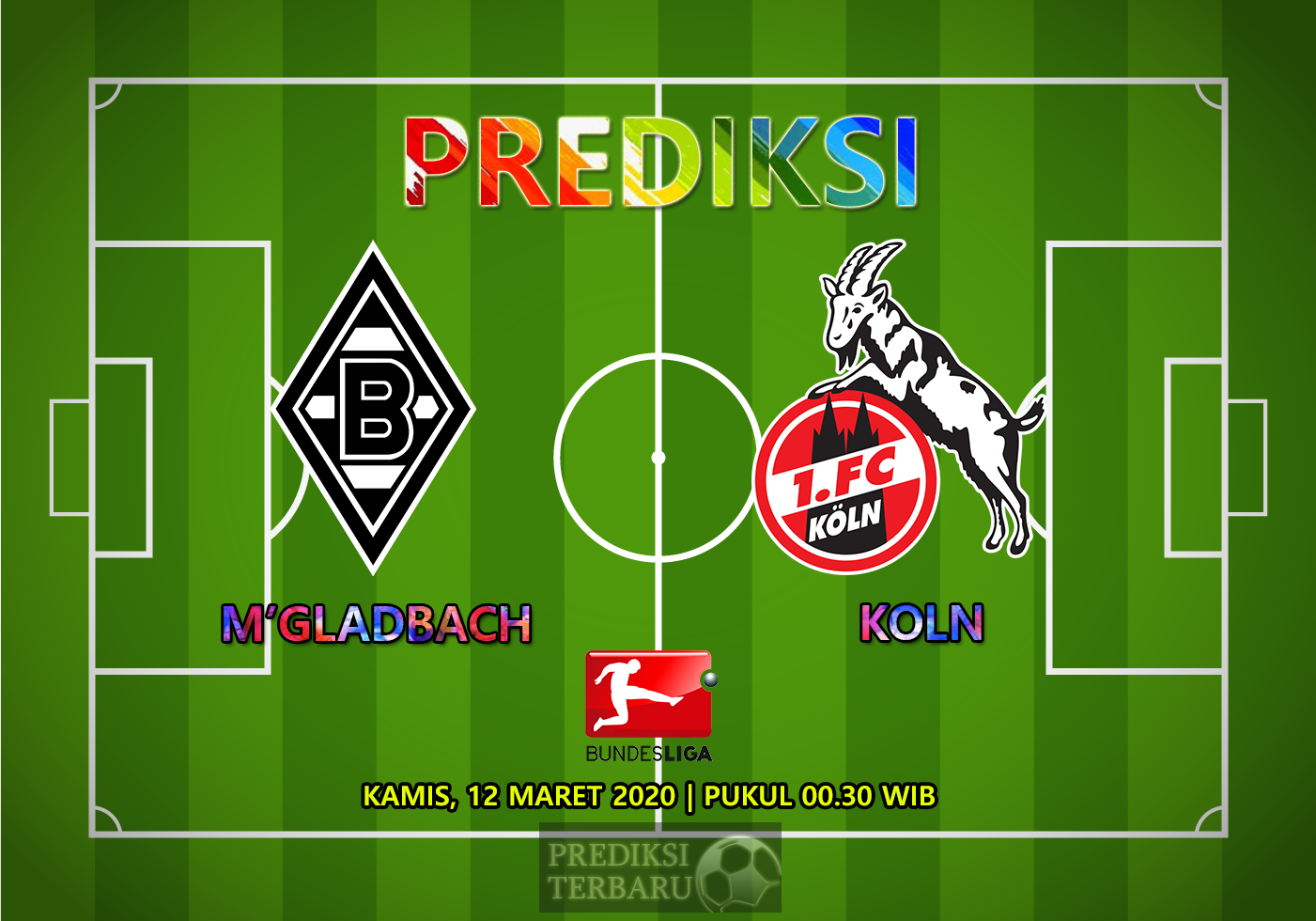 Prediksi Borussia M'gladbach Vs Koln Kamis 12 Maret