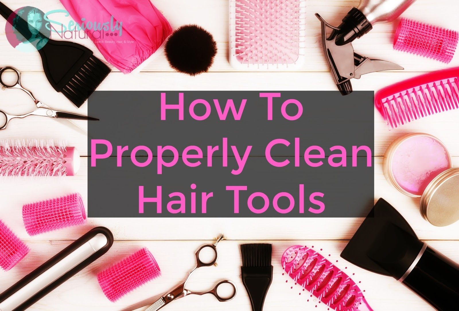 Do you know how to properly clean hair tools? How often to do it or even what to use? Check out this super informative post on how to do it and how often.