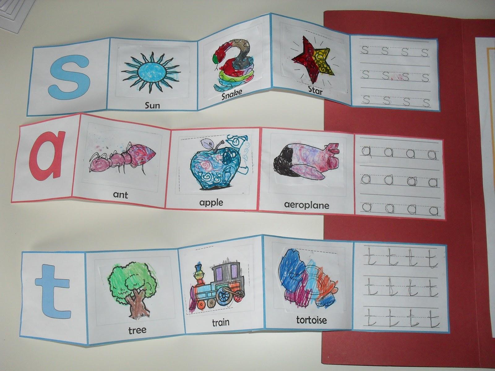 A Muslim Homeschool Jolly Phonics Lapbook With A