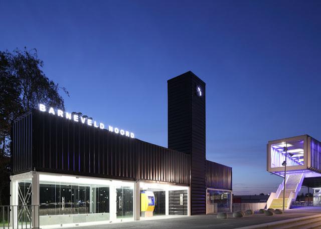 Barneveld Noord - остановка из контейнера