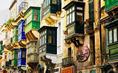 La Valletta e i suoi balconi