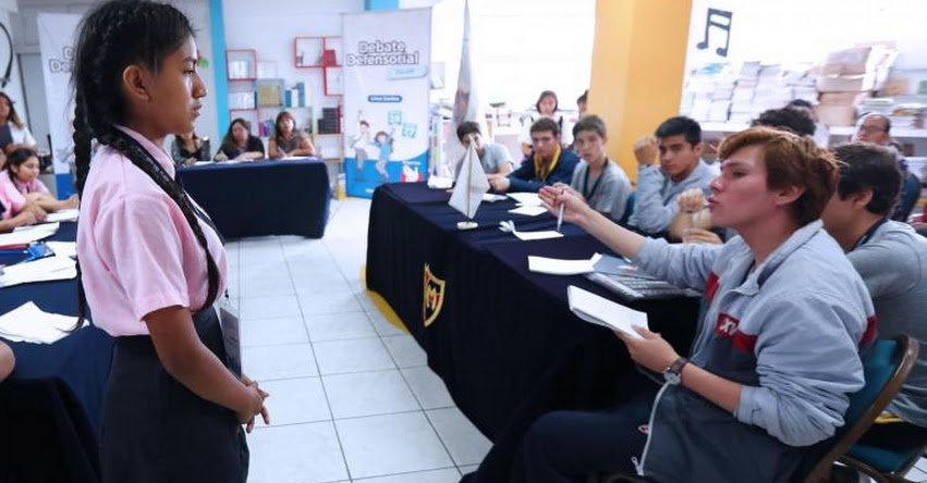 Adolescentes de Lima Este presentarán iniciativas para prevenir la violencia, debate que organiza la Defensoría del Pueblo