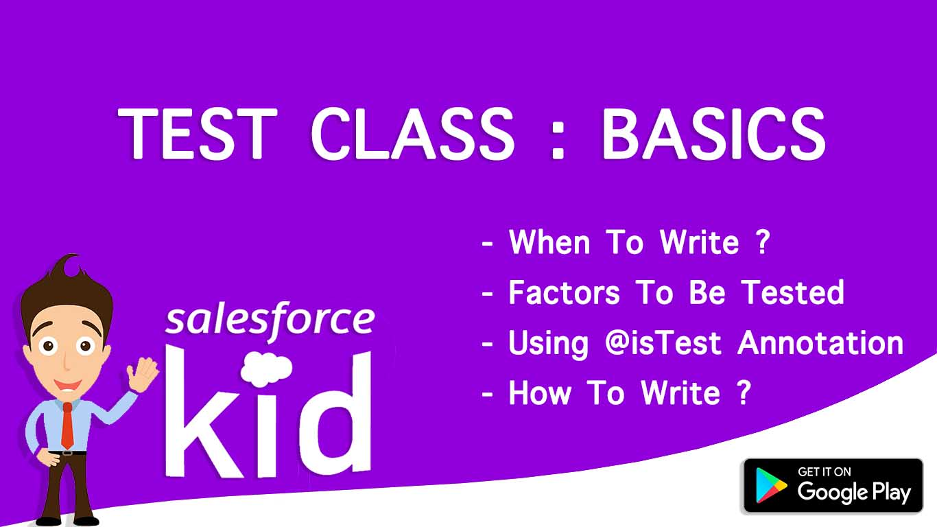 How to write test classes in salesforce with basics