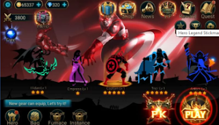 Hero Legend Stickman v3.4.1 Mod Apk Full version