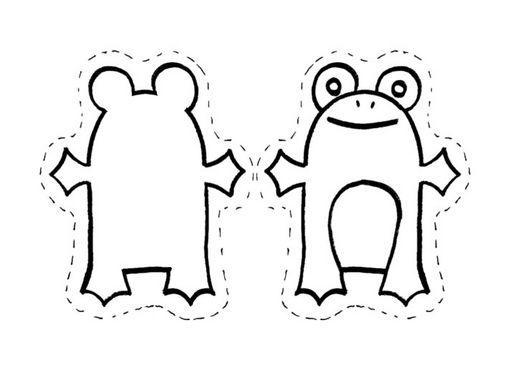 Dibujos De Marionetas Para Imprimir Y Colorear: Para Compartilhar E Refletir: Fantoches Para Colorir E