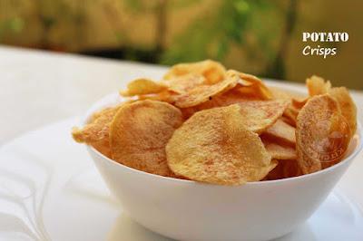 perfect potato chips chips snacks potato recipes crisp homemade potato chips snacks wafers potato sloces