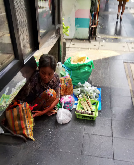 Poverty in Bangkok Thailand