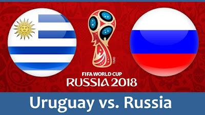 Live Streaming Uruguay vs Russia Piala Dunia 25.6.2018