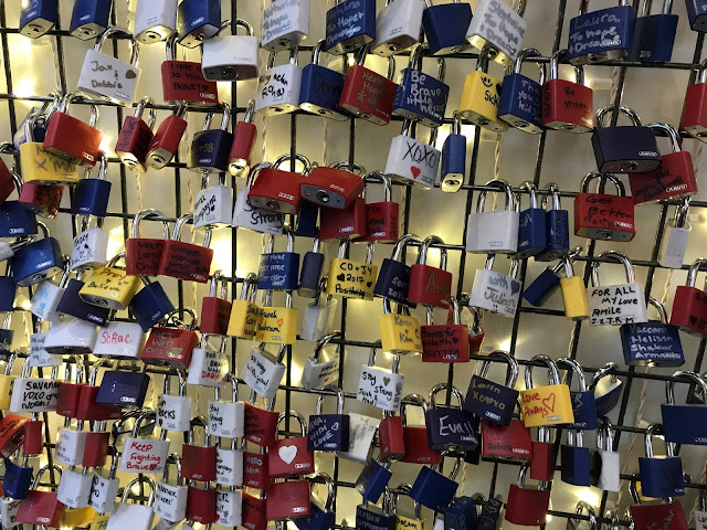 vaughan mills love locks sick kids