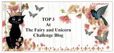 Top 3 Winner - The Fairy and The Unicorn Challenge Blog