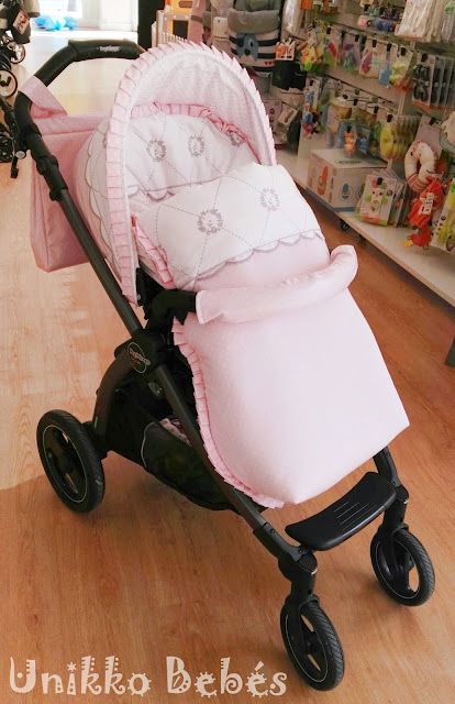 funda rosa silla Peg Perego Book Plus