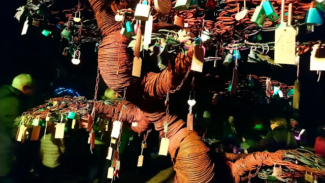 Christmas at Beaulieu - Love Lock Tree