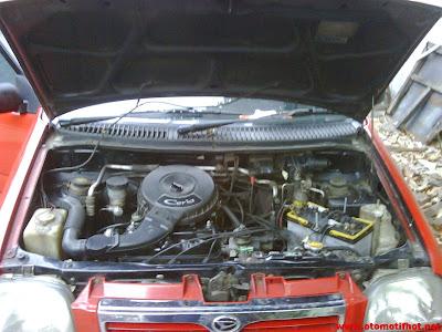 Spesifikasi Mesin Daihatsu Ceria
