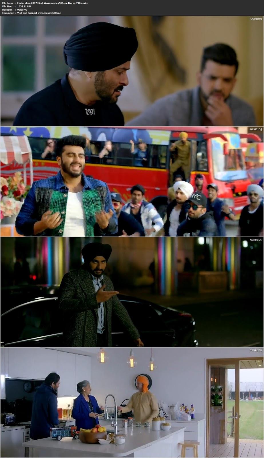 Mubarakan 2017 Hindi BluRay H264 BluRay 720p 1GB at movies500.site
