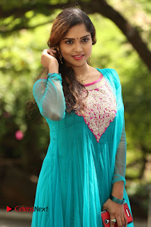 Actress Karunya Pictures in Salwar Kameez at Kannullo Nee Roopame Movie Opening  0077