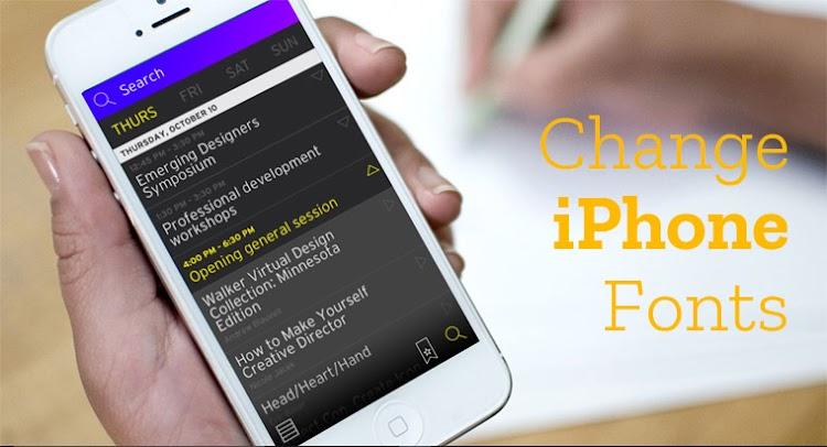 Cara Mudah Mengganti Font di iPhone