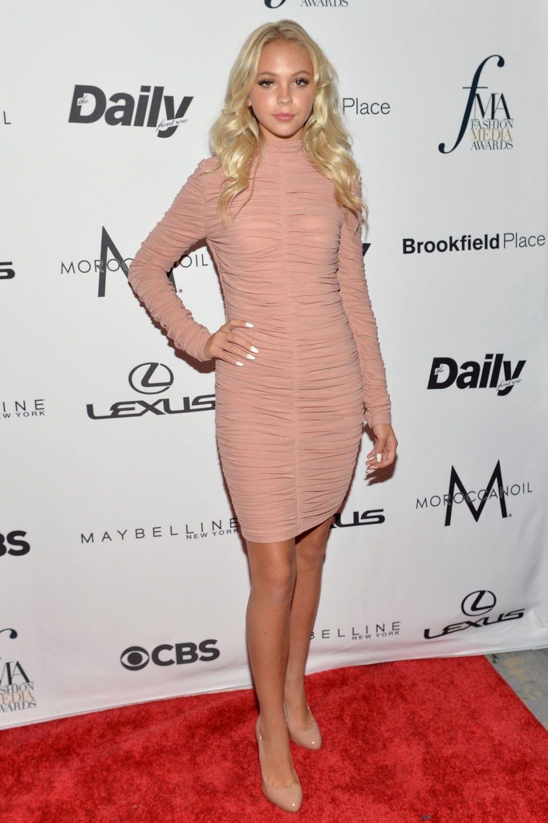 HQ Photos of Jordyn Jones At The Daily Front Row's 4th Annual Fashion Media Awards In New York