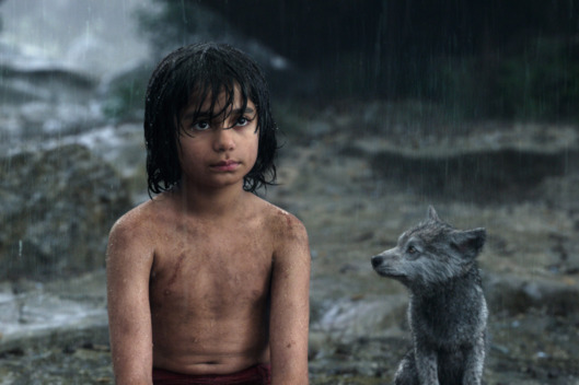 Mowgli dan sahabatnya Grey si Anak Srigala