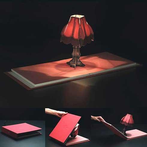 Diseño de lámpara creativa