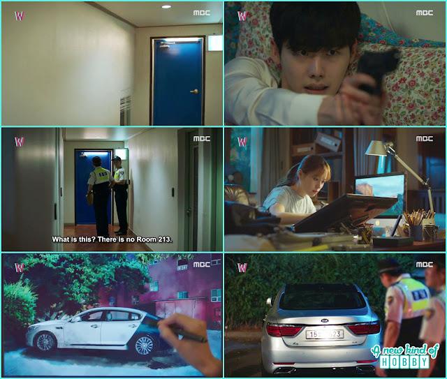 Yeon Joo remove the hotel room in webtoon - W - Episode 11 Review