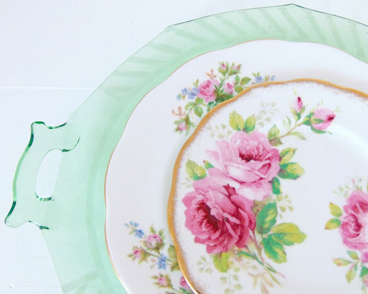 Mix Match Royal Albert Pink Roses