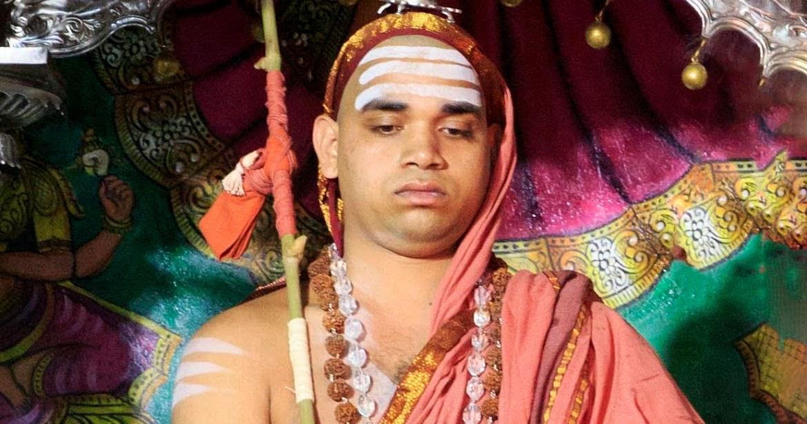Mediandicate Sri Vidhushekhara Bharati Swamiji 37th Guru Of