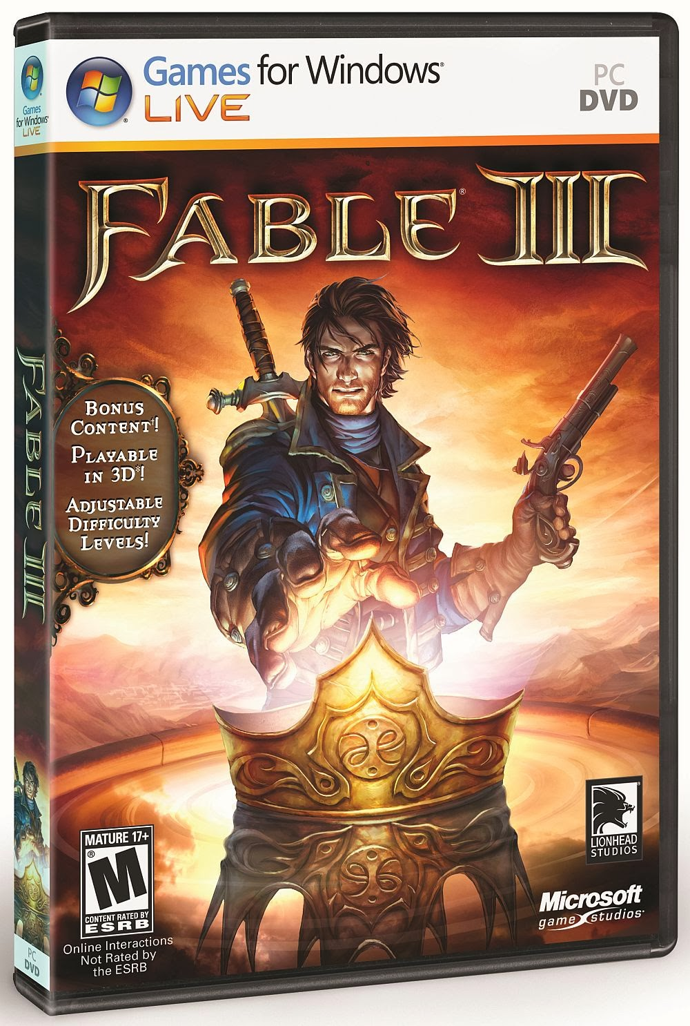 Fable 3 With Cheats PC Game Full Version Fresh Games Download