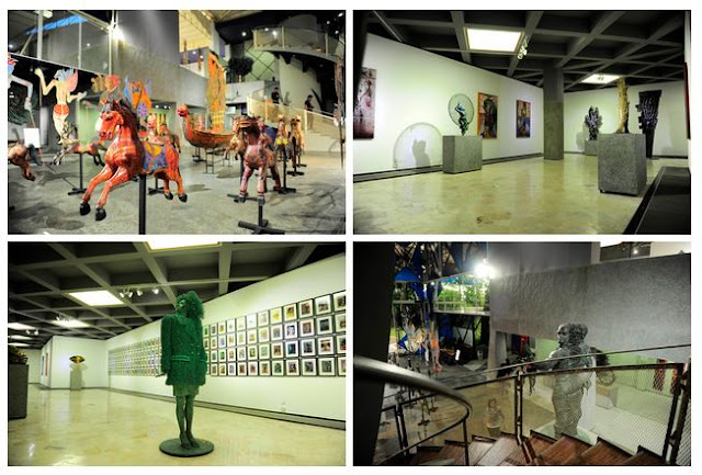 galeri seni patung yang menampilkan karya karya hasil Nyoman Nuarta