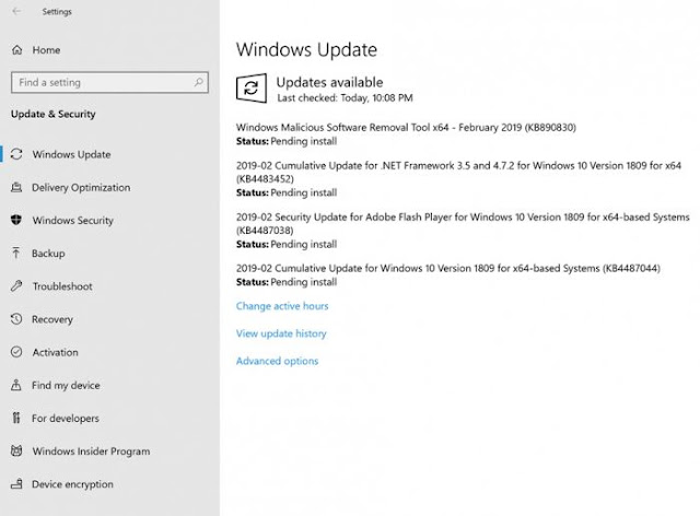 Windows 10 Build 17763.316 comes with fixes for various issues