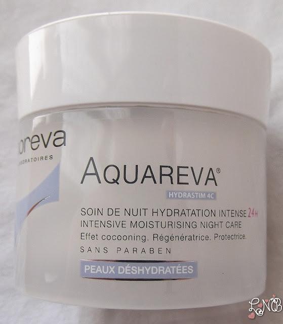 AQUAREVA DE NOREVA Soin de nuit Hydratation Intense 24H