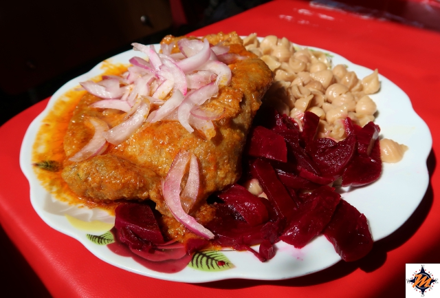 Potosí, pranzo al mercato