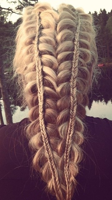 Stacked Loop Braid