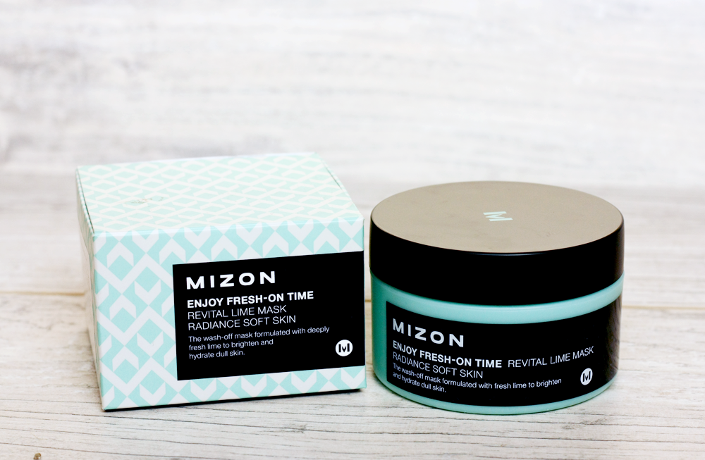 Mizon Enjoy Fresh-On Time Revital Lime Mask - Maseczka do twarzy