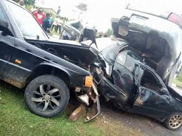 two vehicles collide in Akwa Ibom