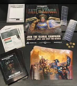 Campaña Warhammer 40000