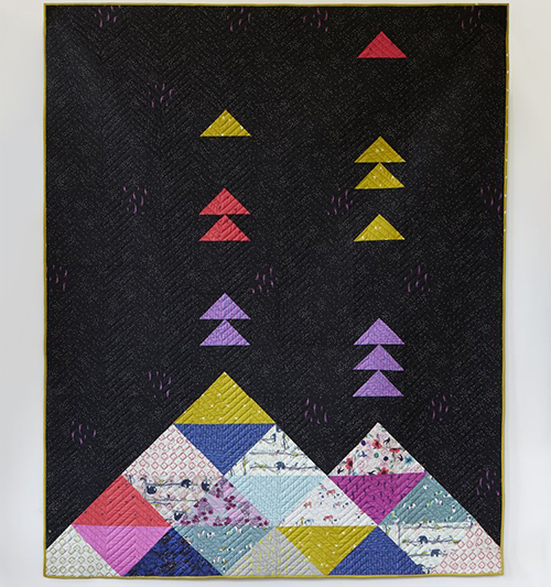 Volcano Quilt - Free Pattern